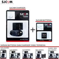 Batre Charger cadangan atribut traveling Action camera SJCAM original