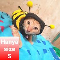 Baju kucing kelinci monyet hewan lain model lebah size s