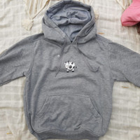 hoodie jumper size M untuk pria dan wanita jaket sweater cardi grey