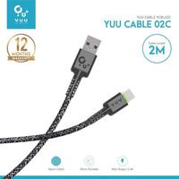 YCBL02C YUU CABLE DATA USB-A TO TYPE-C (2 METER) – YCBL02C