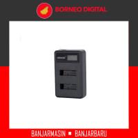 Seiwe Charger Baterai Kamera 2 Slot for LP-E10