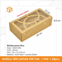 Cake box,Kotak souvenir,Brownies box,Packaging,Dus kue | TC - CB241266