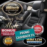 Sarung Jok Mobil MBTECH - Avanza Inova Sigra Xpander Freed Spin BRV