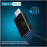 OTG Adapter USB to Type C for Phone PC Microphone
