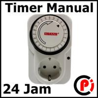 Timer Manual Stop Kontak Mechanic 24 Jam Programme Timer