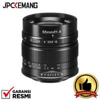7artisans for Fujifilm 55mm f1.4 7artisan Fuji X Mount GARANSI RESMI