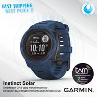 GARMIN Instinct Solar GPS Running Smartwatch - Garansi Resmi TAM