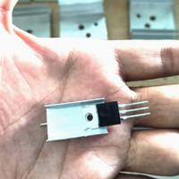 Hetsink Heatsink Pendingin Transistor Kecil TIP 41 42