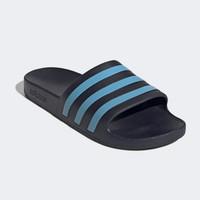 Sandal Adidas ADILETTE AQUA SLIDES Legend Ink Cyan EG1757 ORIGINAL