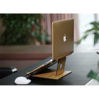 Stand Dudukan Tatakan Laptop Macbook Air Notebook 11-17 Inch WoodStyle