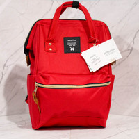 Tas Ransel Anello Diaper Bag tas popok baby bag import murah 2 in 1 - Merah