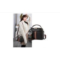 Tas Selempang Korea Wanita Kulit PU Glamour Leather Sling Bag