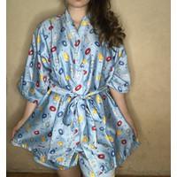 piyama kimono wanita
