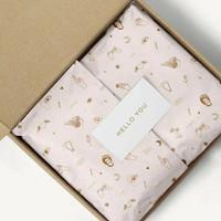 custom wrapping paper FULL COLOUR uk A3 kertas packing doorslag warna