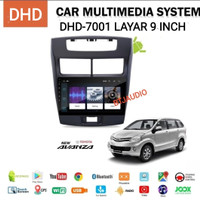 HEAD UNIT TAPE TV MOBIL DOUBLE DIN AVANZA/XENIA 2012-2016 ANDROID 9
