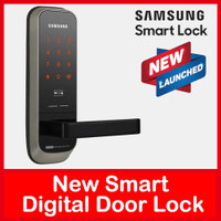 SAMSUNG NEW SHP-H20 Digital Door Lock Touch Pad Password Card Key Main