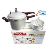 Maxim Panci Presto 20 Cm 4 Liter- Pressure Cooker - Panci Presto MAXIM