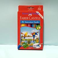 pensil warna faber castell water colour 36 original