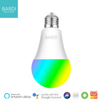 BARDI Smart 9W RGBWW LIGHT BULB Wifi Wireless IoT For Home Automation