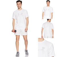 Kaos Under Armo*r UA Threadborne Faded Logo Tee White Original Stretch
