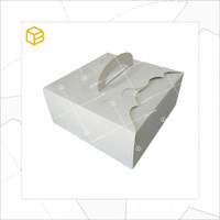 Packaging, Kemasan, Dus Kue, Cake Box, Gift, Kotak | TC - 42210 White