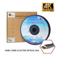 KABEL HDMI EYOTA - Fiber Optic Active Optical V.2.0 ULTRA HD 4K - 50m