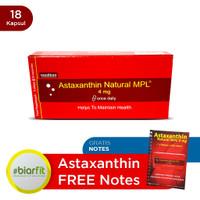 Astaxanthin Free Notes