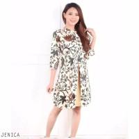 Jenica Dress - Dress Batik Wanita Terusan Wanita