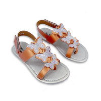 Sepatu Sandal Anak Perempuan NoNaMe Raida - Pumpkin