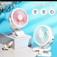 ESR Clip On Desk Fan Portable Wireless Mini Fan Rechargable USB Fan