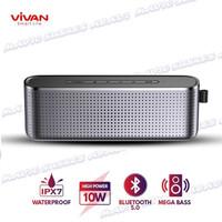 VIVAN Speaker Bluetooth VS10 V5.0 HI-Fi Portable Waterproof 1800mah