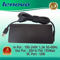 Adaptor Charger Laptop Lenovo Legion Y520 Y530 Y730 20V 6.75A USB