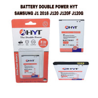 BATTERY DOUBLE POWER HYT SAMSUNG J1 2016 J120 J120F J120G ORIGINAL HYT