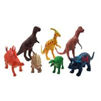 Mainan Dinosaurus Karet isi 7 Pcs - Figure Animal Murah