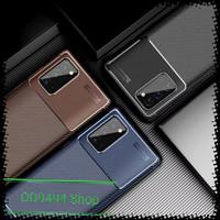 Case carbon fiber cover shockproof casing samsung note 20 ultra
