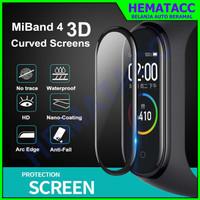 Anti Gores Xiaomi Mi Band 4 3D Curved Screen Protector Screen Guard