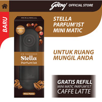 Stella Mini Matic Parfum'ist Caffee Latte