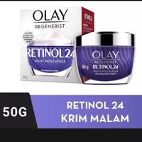 Olay Regenerist Retinol 24 Night Moisturizer Cream Anti Aging 50 ml