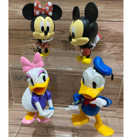 Mickey Minnie Donald Duck Disney Figure Set