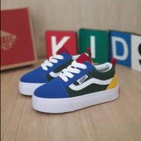 Sepatu Anak 1-7 Tahun Vans Old skool Multy Colors Bnib Import 20-35 - 20