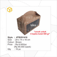 Packaging. Souvenir, Toples, Multipurpose, Box Kemasan | TC - TB291416