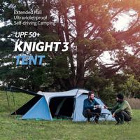 TENDA Gunung Outdoor Camping KNIGHT 3 NATUREHIKE NH19G001Y