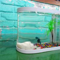 aquarium mini unik milenial akrilic pvc