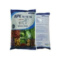 Pupuk Seimbang NPK 16-16-16 Rusia Mutiara Pak Tani 1kg