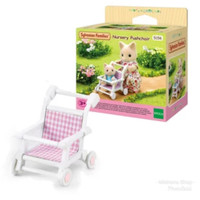 Sylvanian Family Nursery Push Chair Stroller Kereta Dorong Bayi