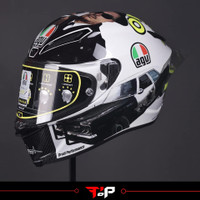 AGV PISTA GPR ROSSI MISANO 2016 BLUES BROTHERS HELM FULL FACE