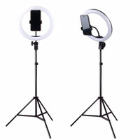 Ring Light 26cm + Tripod 2m - Lampu Makeup - Lampu Selfie - Lampu Vlog
