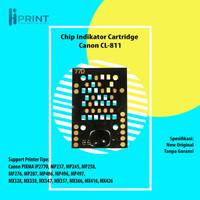 Reset Indikator Ink Level Cartridge Canon CL811 CL-811 Printer IP2770