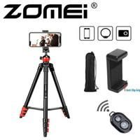 Zomei T60 Portable Travel Tripod Kamera & Smartphone Ball Head