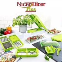 Genius Nicer Dicer Plus / Pemoton Sayur Buah Serbaguna